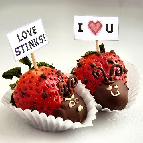 Love Bug Chocolate Dipped Strawberries