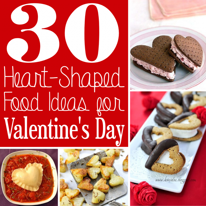 30 Heart Shaped Food Ideas for Valentine's Day