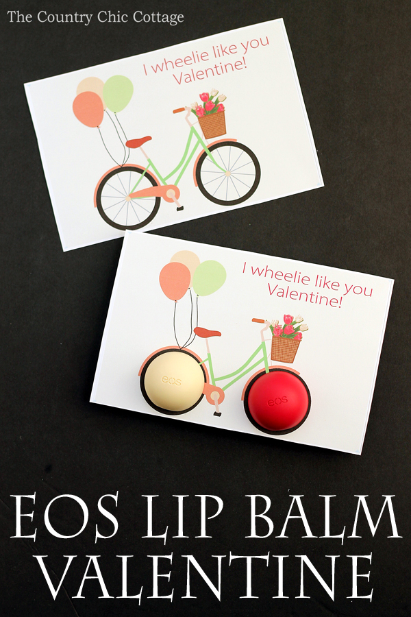 EOS Lip Balm Bike Valentine