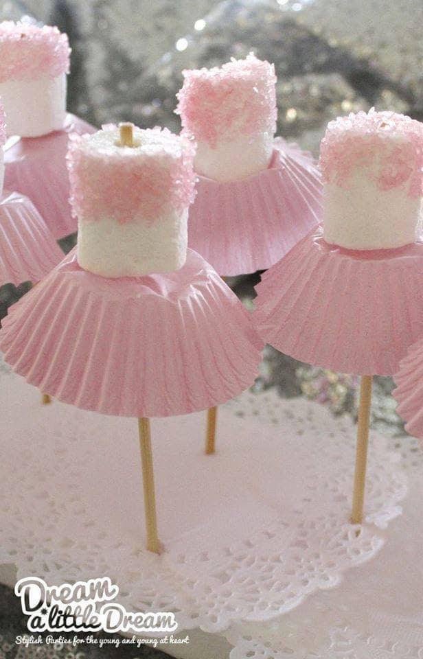 Marshmallow Ballerinas
