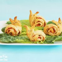 Snail Pesto Pinwheels - Appetizer for Kids