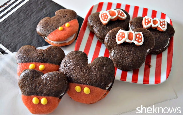 Mickey & Minnie Mouse Whoopie Pies