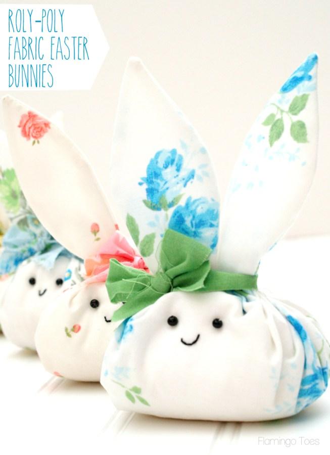 Fabric Easter Bunnies
