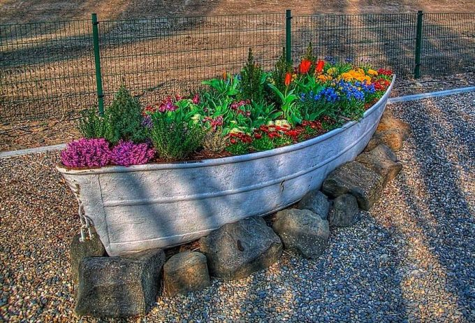 Flower Garden Ideas With Old Wheelbarrow the best garden ideas and diy yard projects! - kitchen fun with my