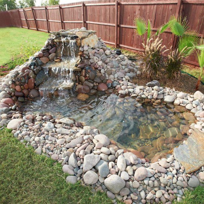 The best garden ideas and diy yard projects kitchen fun for Diy yard pond