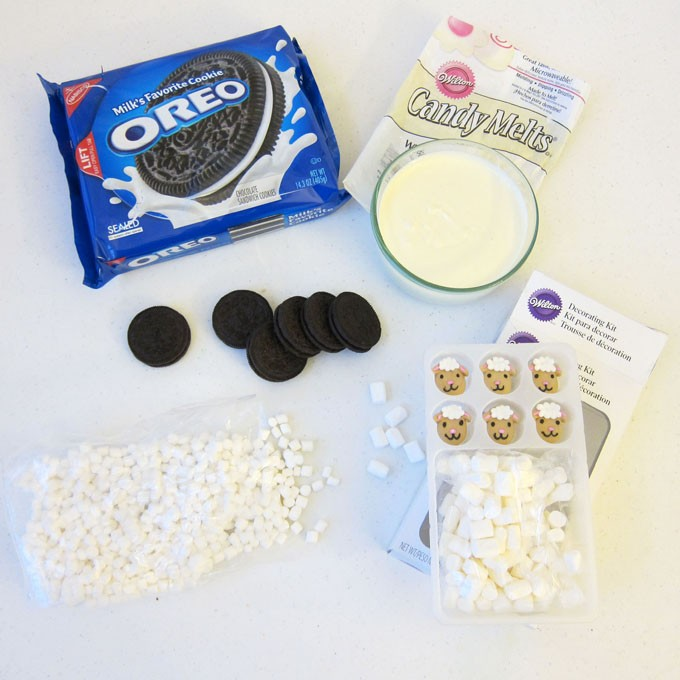 Oreo Sheep Ingredients