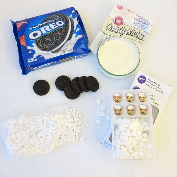 Oreo Sheep Ingredients