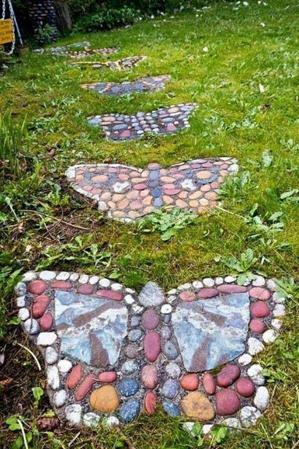 The best diy garden ideas and amazing projects the art - Yard stepping stone ideas ...