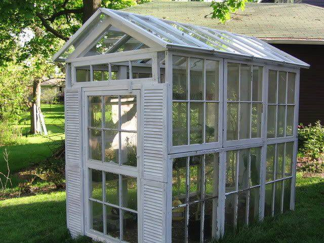 diy greenhouse made from old windowsthese are the best garden diy - Garden Ideas Diy