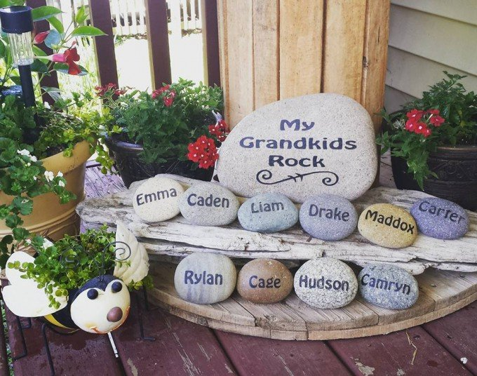 my grandkids rockthese are the best garden ideas - Diy Garden Ideas