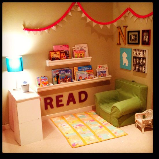 Toddler Play Space In Living Room