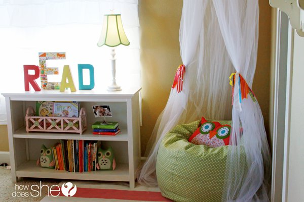 Bean Bag Book Nook. The BEST DIY Reading Nook Ideas    Kitchen Fun With My 3 Sons