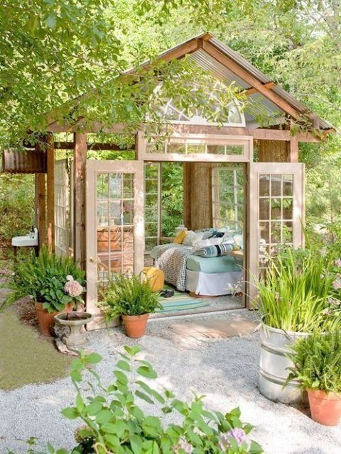 Outdoor Garden Reading Nook