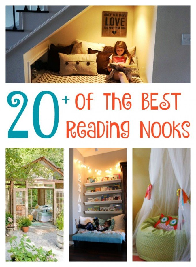 The best diy reading nook ideas kitchen fun with my 3 sons for Kitchen ideas book