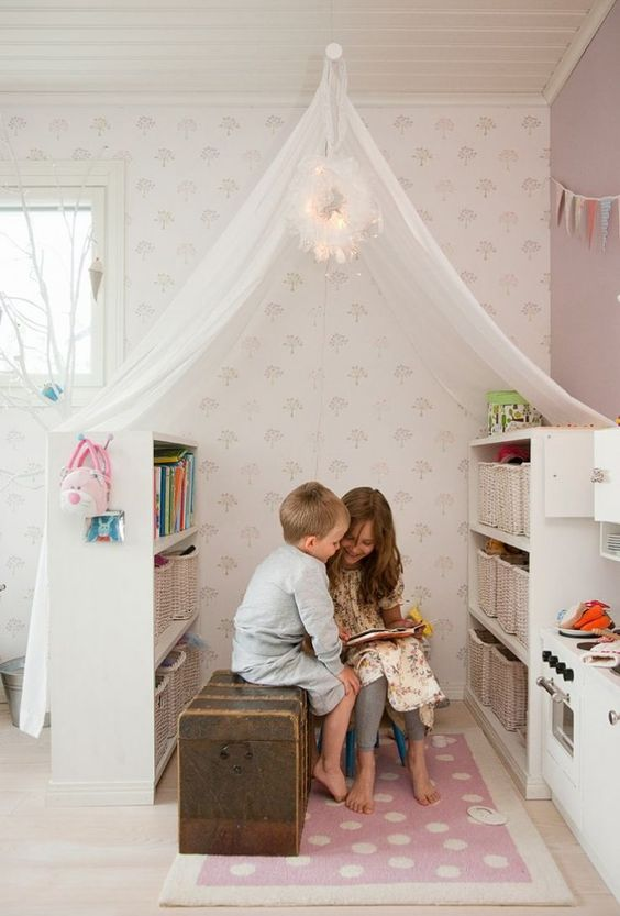 Reading Corner for Kids! : reading-corner-ideas - designwebi.com