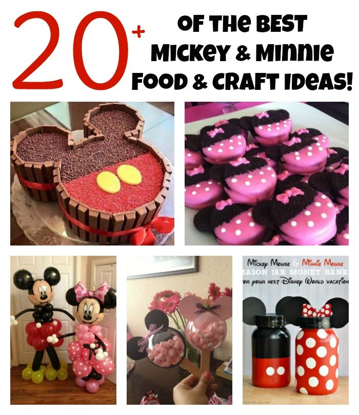 The Best Mickey Mouse Party Food Amp Craft Ideas For Kids