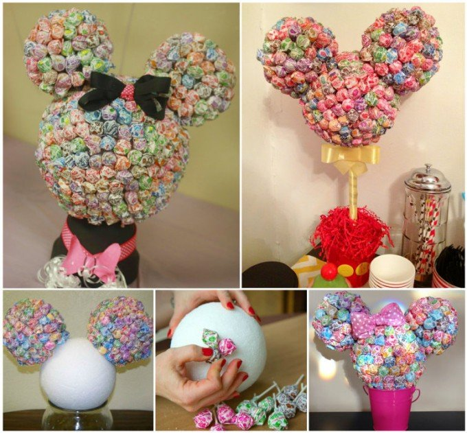The best mickey mouse party food craft ideas for kids for Baby minnie mouse decoration ideas