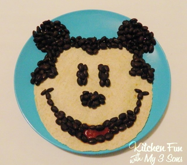 Mickey Mouse Quesadilla