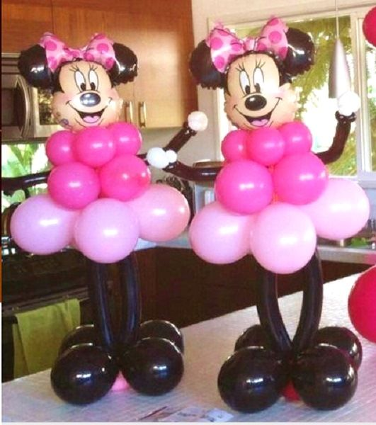 Minnie Mouse Balloon for a Disney party!