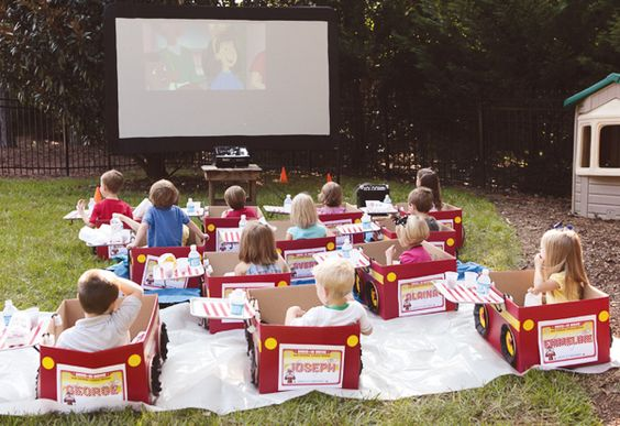 Cardboard Box Drive-In Cars