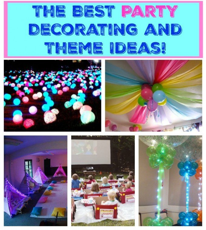 The BEST Party Decorating and Theme Ideas from KitchenFunWithMy3Sons.com