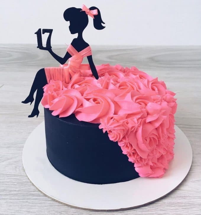 Dress Birthday Cake
