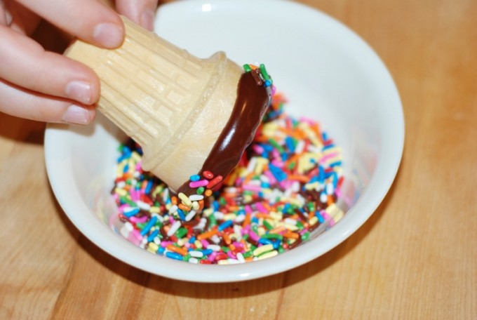 Easy Marshmallow Ice Cream from KitchenFunWithMy3Sons.com