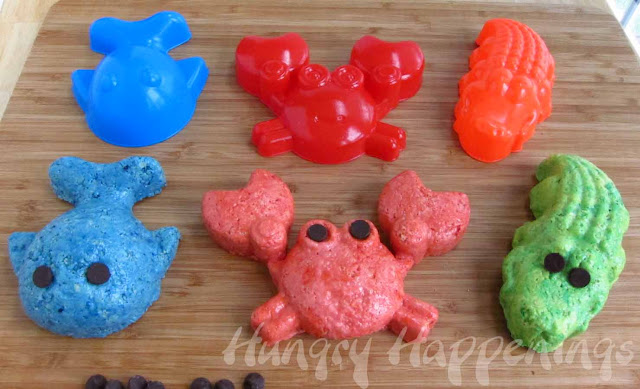 Rice Krispie Treat Sea Creature Treats