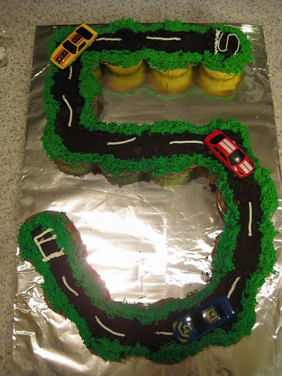 John Deere Race Car >> The BEST Cupcake Cake Ideas! - Kitchen Fun With My 3 Sons