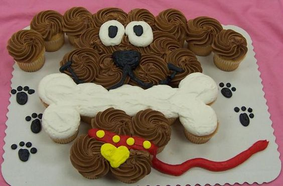 Dog Cupcake Cakethese Are The BEST Pull Apart Cake Ideas