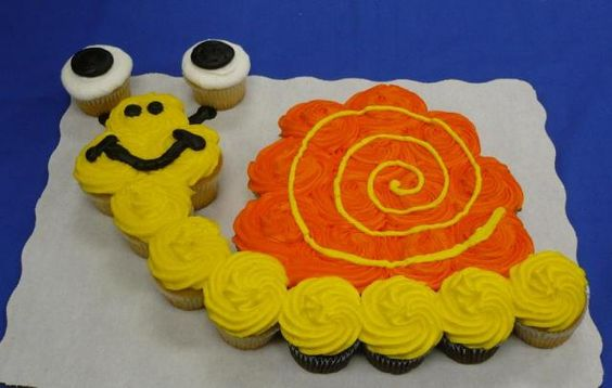 Snail Birthday Cake Ideas