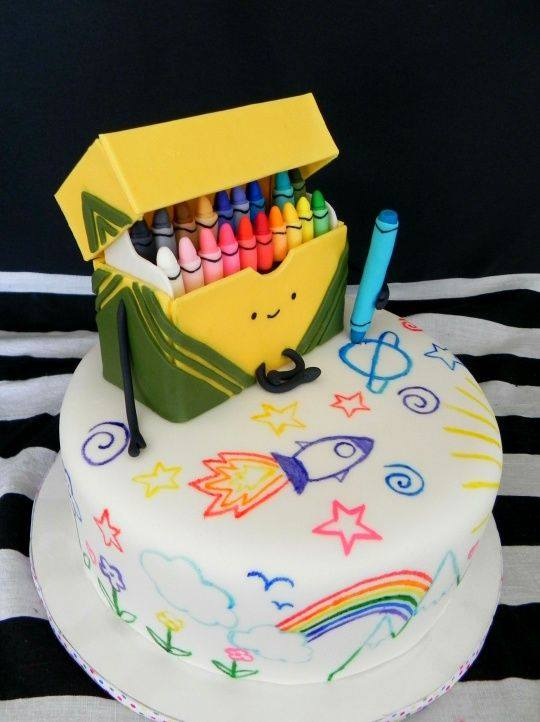 Cake Ideas For Artist : Over 30 Awesome Cake Ideas! - Kitchen Fun With My 3 Sons