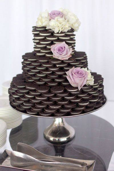 Stacked Oreo Cake...awesome Cake Ideas!