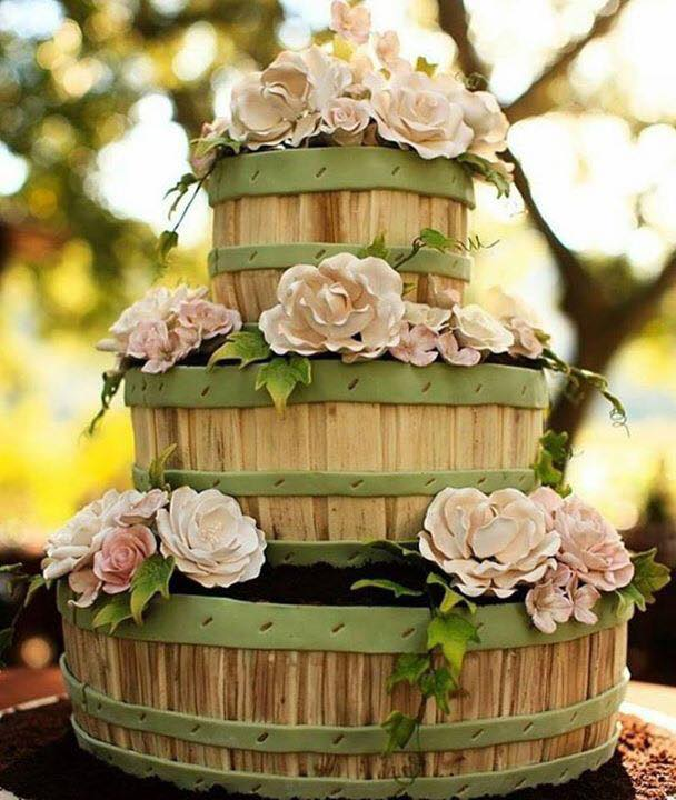 Potted Plant Cake...these are the BEST Cake Ideas ever!