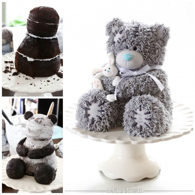 3D Teddy Bear Cake....these are the BEST Cake Ideas!