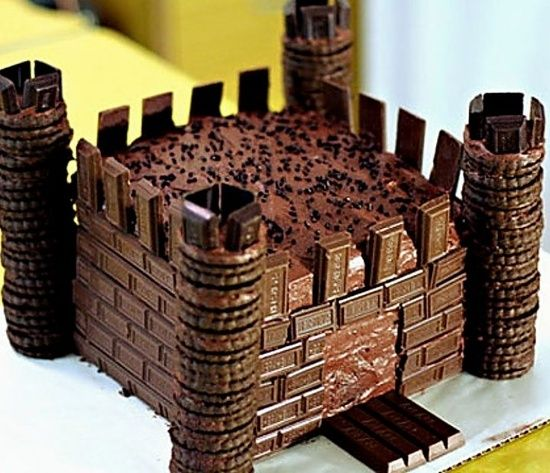 Chocolate Candy Castle Cakethese Are The BEST Cake Ideas