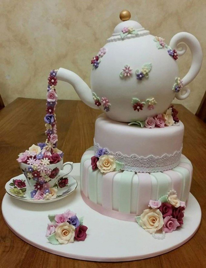 High Tea Cake...these are the BEST Cake Ideas!