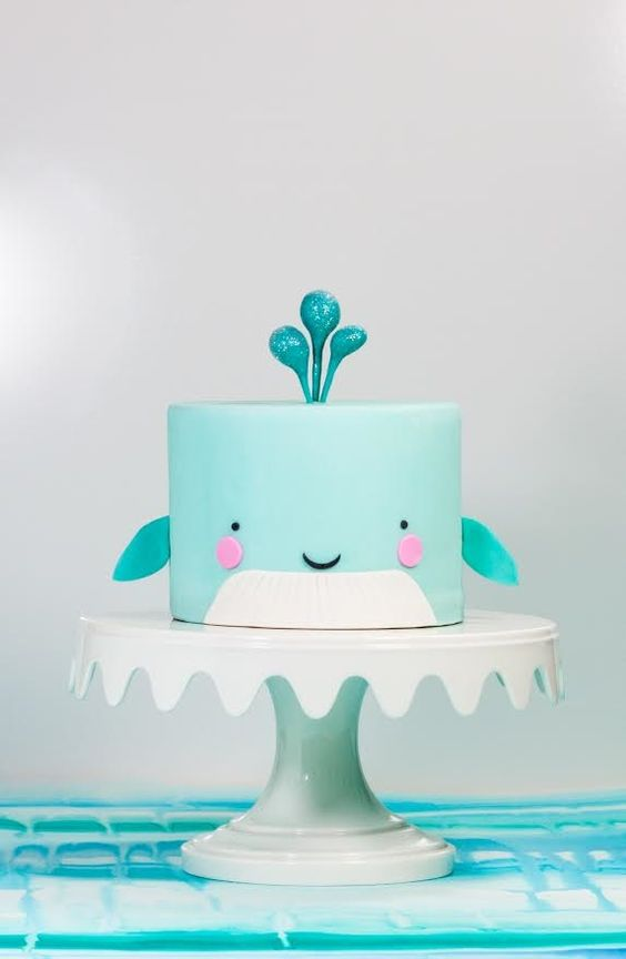 Whale Cake...these are the BEST Cake Ideas!
