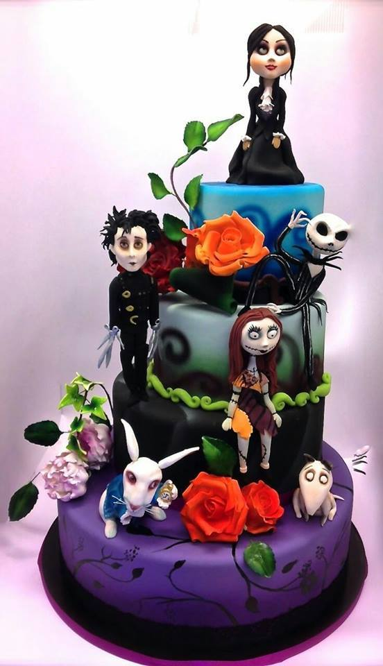 Tim Burton Cake...these are the BEST Cake Ideas!