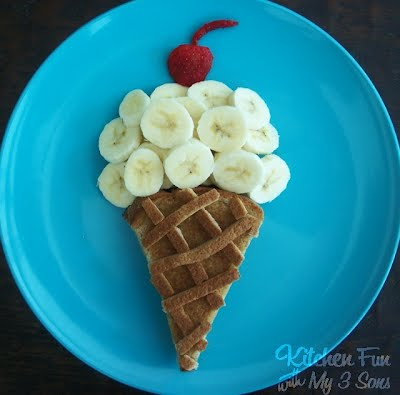 Ice Cream for Breakfast or Lunch from KitchenFunWithMy3Sons.com