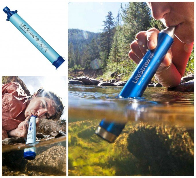 Life Straw...drink water from anywhere! Great Camping idea!