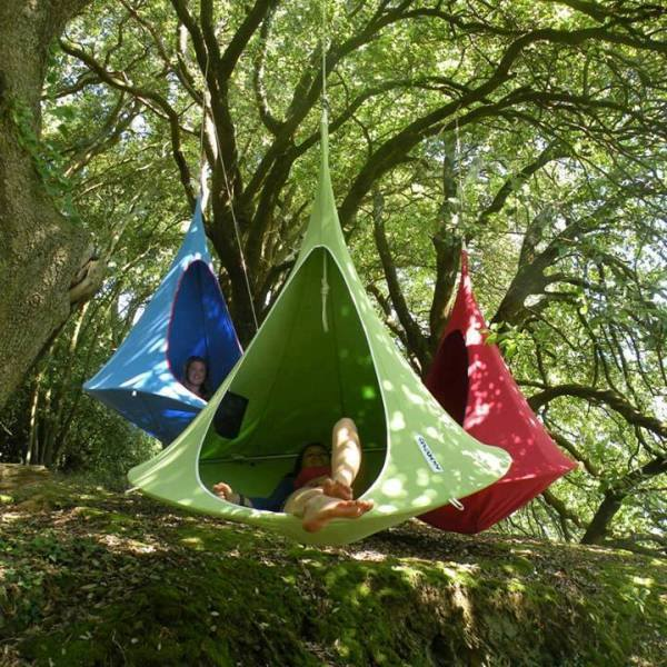 Hanging Chair Tent Cacoon for Camping!
