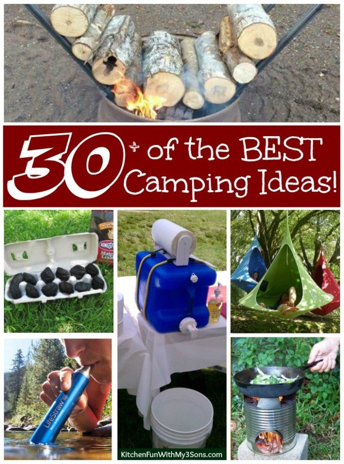 30 Of The Best Camping Ideas Gear Tips Tricks Kitchen Fun
