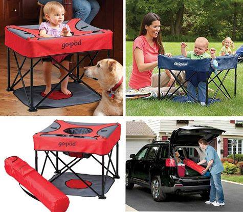 Portable Activity Baby Station for Camping!