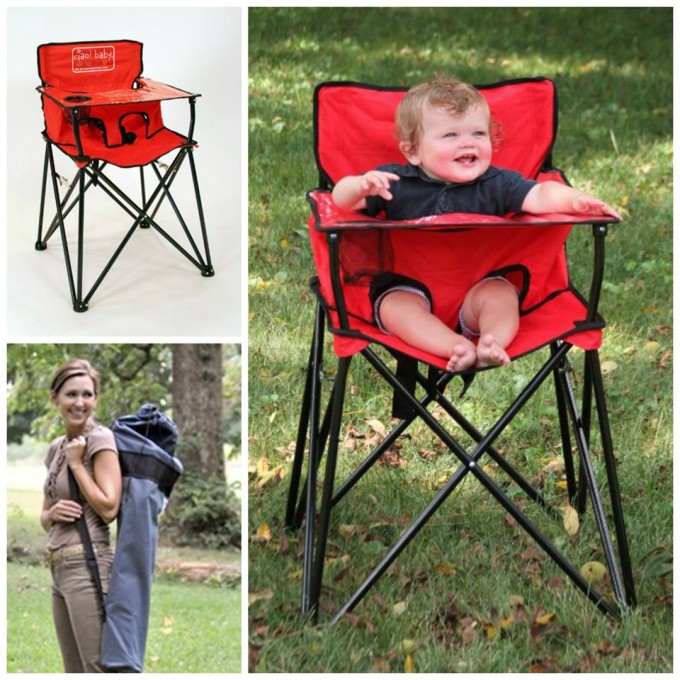 Portable Baby High Chair for Camping!