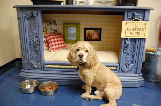 High Quality Turn An Old TV Cabinet Into A Dog Bed!