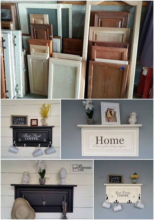 20 of the best upcycled furniture ideas kitchen fun for Repurposed home decorating ideas