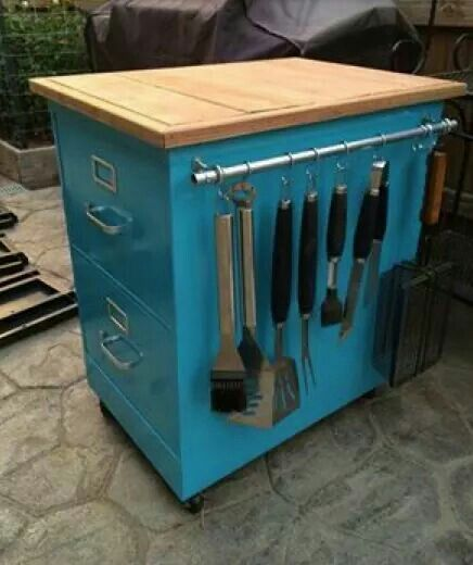 Reused Kitchen Cabinets: 20+ Of The BEST Upcycled Furniture Ideas!