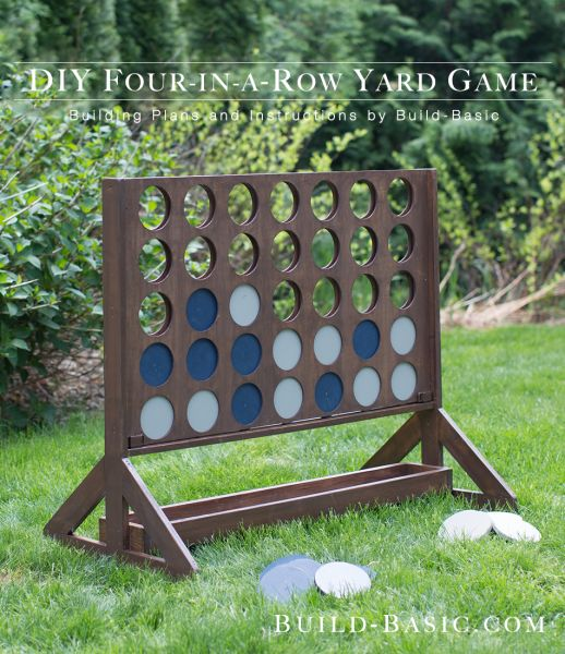 Beau Giant DIY Connect Four...these Are The BEST Backyard Game Ideas For Kids