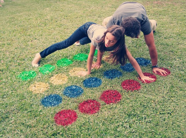 DIY Twister...these are the BEST Backyard Games for Kids & Adults!